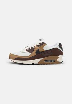 Nike Sportswear - AIR MAX 90 - Matalavartiset tennarit - dark driftwood/black/sail/light chocolate/white