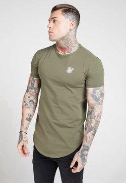 SIKSILK - Camiseta básica - khaki