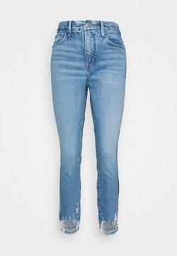 Good American - GOOD CURVE CROP - Jeans slim fit - blue