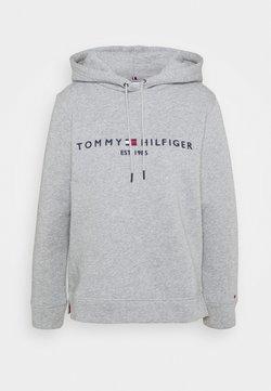 Tommy Hilfiger - REGULAR HOODIE - Sweatshirt - light grey heather