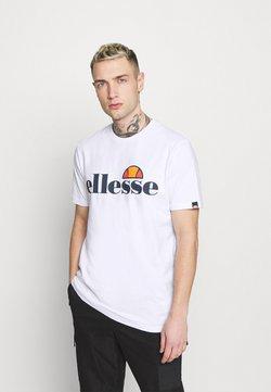 Ellesse - SMALL LOGO PRADO - T-shirts print - white