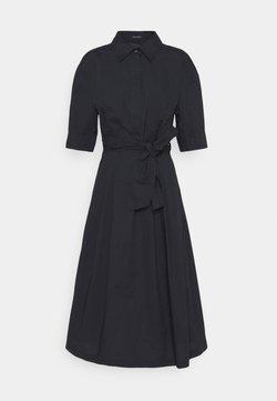 Marc O'Polo - DRESS STYLE BELTED WAIST - Blousejurk - dark blue