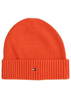 Tommy Hilfiger - PIMA COTTON BEANIE - Beanie - orange