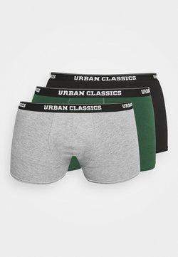 Urban Classics - 3 PACK - Shorty - grey/darkgreen/black
