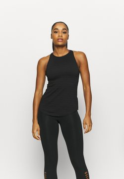 Nike Performance - YOGA TANK - Camiseta de deporte - black