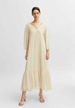 Selected Femme - Maxikleid - young wheat