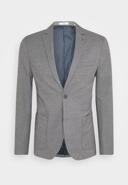 TOM TAILOR - DOBBY - Anzugsakko - grey