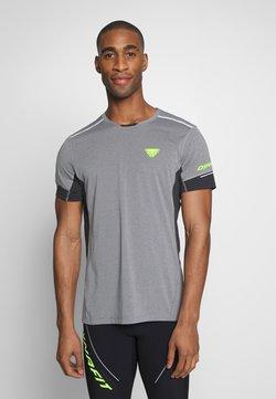 Dynafit - VERT TEE - T-Shirt print - quiet shade melange