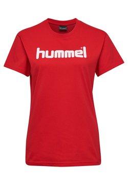 Hummel - HMLGO  - T-shirt print - true red