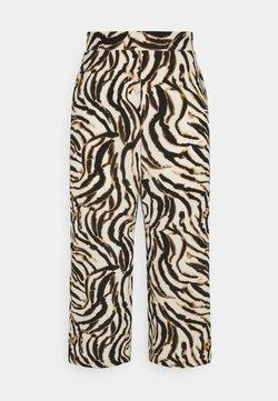 Vero Moda - VMSAGA CULOTTE PANT - Pantaloni - birch