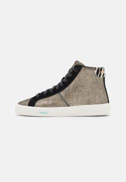 Diesel - S-MYDORI MC W - Höga sneakers - gold