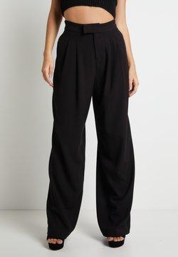 Pepe Jeans - DUA LIPA x PEPE JEANS - Stoffhose - black