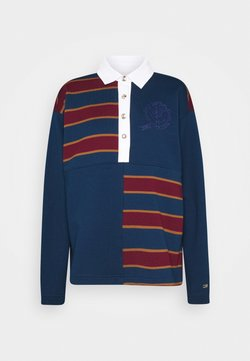 Tommy Hilfiger - ICON OVERSIZED RUGBY - Sweatshirt - night sky
