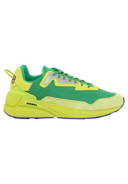 Diesel - Sneakersy niskie - yellow/green