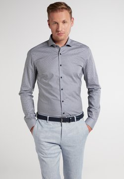 Eterna - SUPER SLIM FIT - Businesshemd - grün/blau