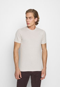 Abercrombie & Fitch - TEE - T-shirts print - Tan