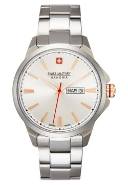 Swiss Military Hanowa - DAY DATE CLASSIC - Montre - silver-coloured