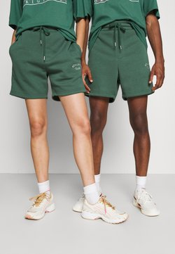 Jack & Jones - JJITOBIAS  UNISEX - Shorts - trekking green