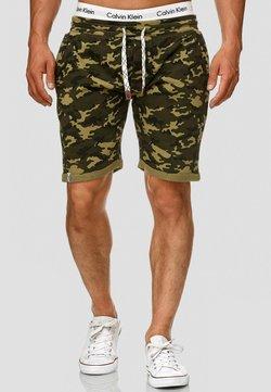INDICODE JEANS - ALDRICH - Shorts - dark green