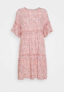 Moves - GIRAL SHORT DRESS - Vapaa-ajan mekko - cashmere rose