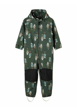 Name it - SOFTSHELL ALFA - Jumpsuit - thyme