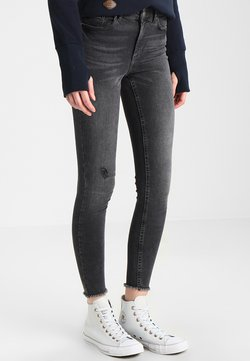 Pieces - PCFIVE DELLY  - Jeans Skinny Fit - light grey denim