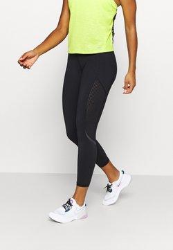 Sweaty Betty - GRAVITY 7/8 RUNNING LEGGINGS - Trikoot - black
