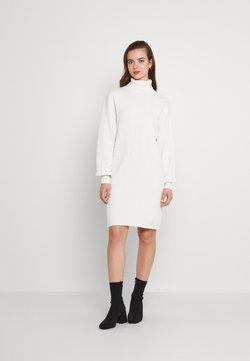 NU-IN - ROLL NECK MINI DRESS - Neulemekko - off-white