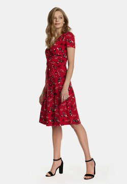 Vive Maria - RED PARADISE  - Jerseykleid - rot allover