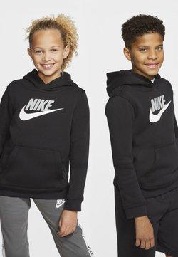 Nike Sportswear - CLUB - Kapuzenpullover - black/light smoke grey