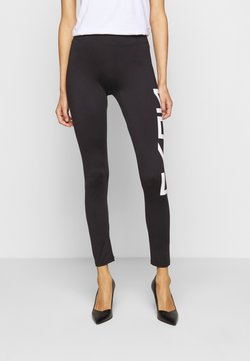 HUGO - DELISEA - Leggings - Trousers - black