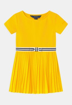 Polo Ralph Lauren - PLEATED DRESSES - Jerseykleid - university yellow