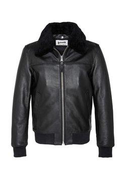 Schott - Leren jas - black