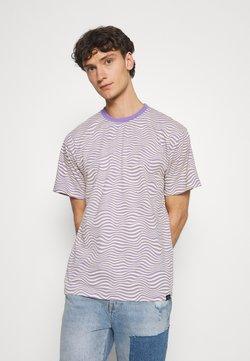 Vintage Supply - STRIPE TEE - T-Shirt print - purple