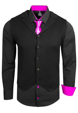 Rusty Neal - 3 SET - Weste - schwarz / pink