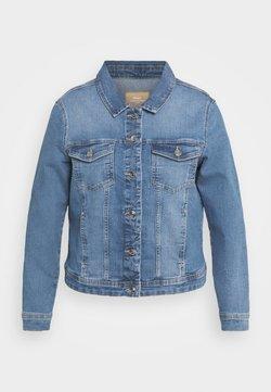 ONLY Carmakoma - CARWESPA LIFE JACKET - Veste en jean - light blue denim