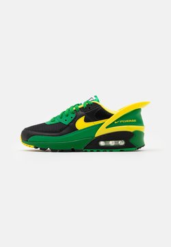 Nike Sportswear - AIR MAX 90 FLYEASE UNISEX - Baskets basses - black/yellow strike/green/black