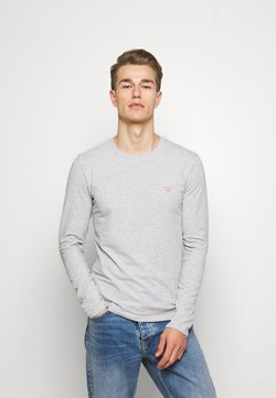 Guess - CORE TEE - Long sleeved top - light heather grey