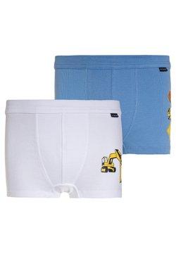 Schiesser - 2 PACK - Shorty - blue