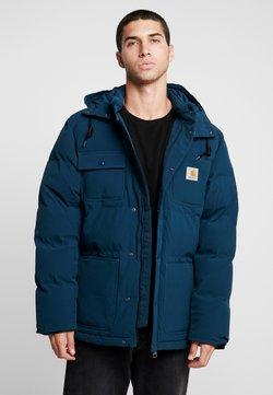 Carhartt WIP - ALPINE COAT - Winterjacke - duck blue/black