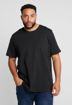 Jack & Jones - JJEORGANIC TEE O NECK - T-shirt basique - black