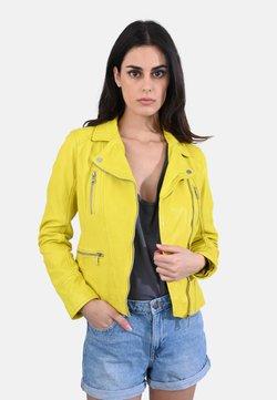 Oakwood - CAMERA - Skinnjacka - yellow