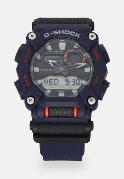G-SHOCK - NEW GA HEAVY DUTY STREET - Rannekello ajanottotoiminnolla - navy