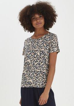 ICHI - IHLISA - T-Shirt print - tan