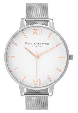 Olivia Burton - DIAL BIG DIAL - Montre - silver-coloured