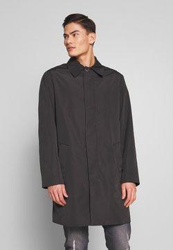 Calvin Klein Tailored - COMPACT NYLON COAT - Mantel - black