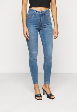 Gina Tricot Petite - MOLLY PETITE - Jeans Skinny Fit - mid blue