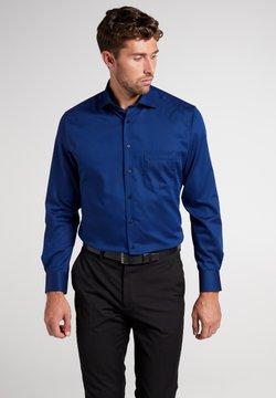 Eterna - FITTED WAIST - Hemd - blau/schwarz