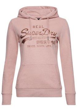Superdry - Bluza z kapturem - copper blush