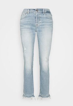 7 for all mankind - ASHER LUXE VINTAGE   - Jeans Slim Fit - light blue